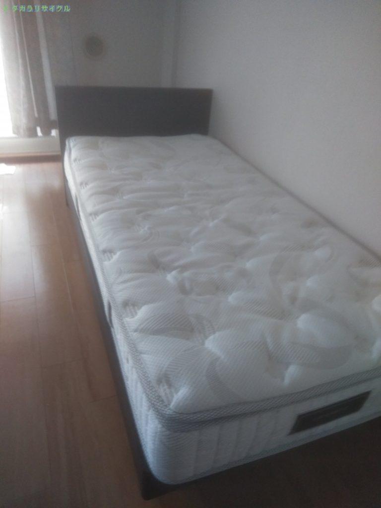 【仲多度郡多度津町桜川】ベッド・収納棚の処分・回収のご依頼者さま