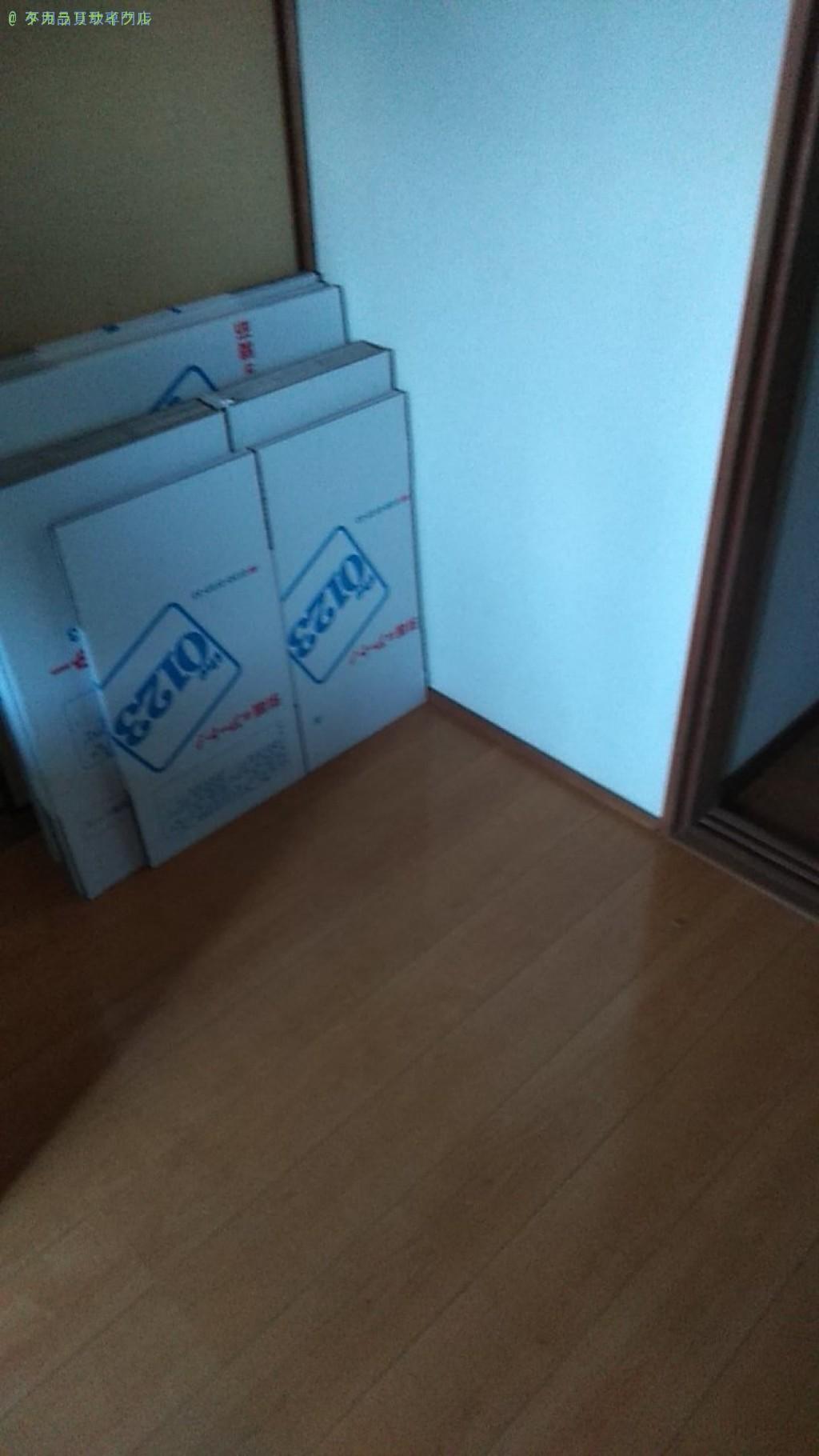 【今治市中寺】折りたたみベッドほか家具の処分・回収のご依頼者さま