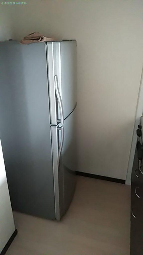【松山市東垣生町】冷蔵庫の処分・回収のご依頼者さま