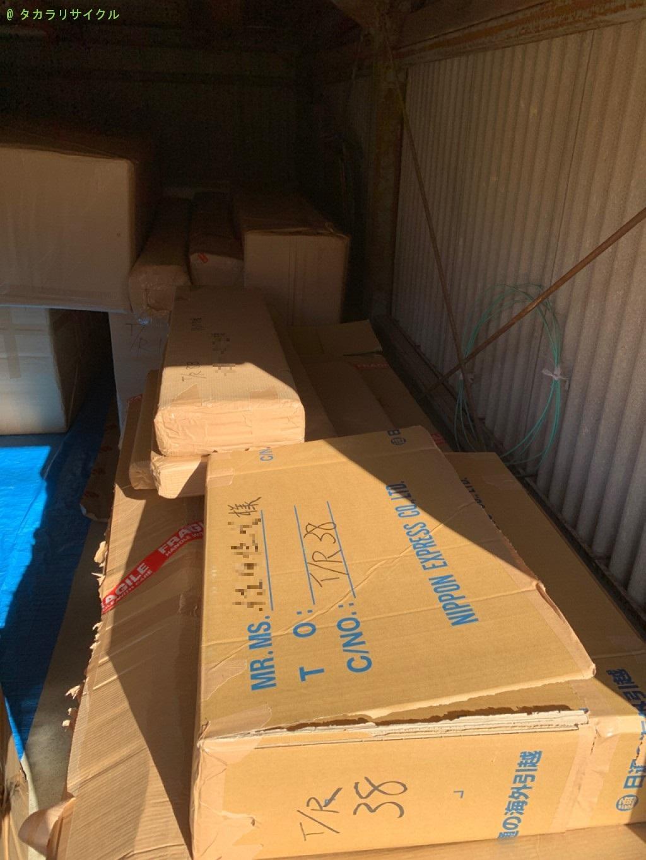 【甲賀市水口町古城が丘】家財道具一式の処分・回収のご依頼者さま