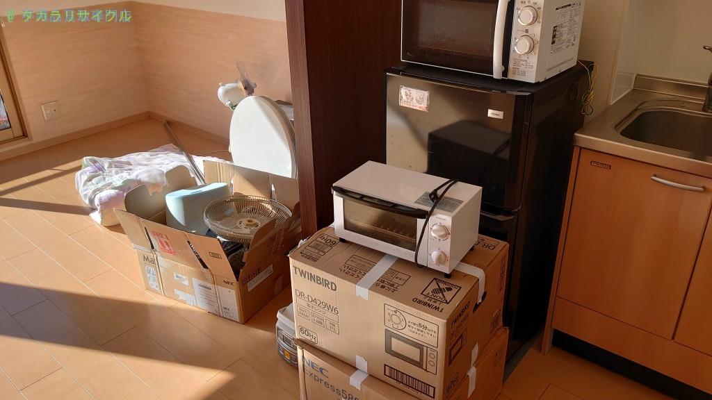 【高知市】冷蔵庫・調理器具の買取・回収のご依頼者様