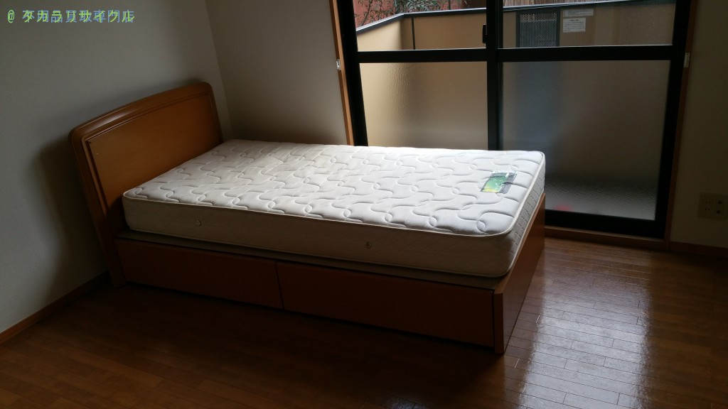 【松山市南江戸】ベッドの買取・回収のお客様