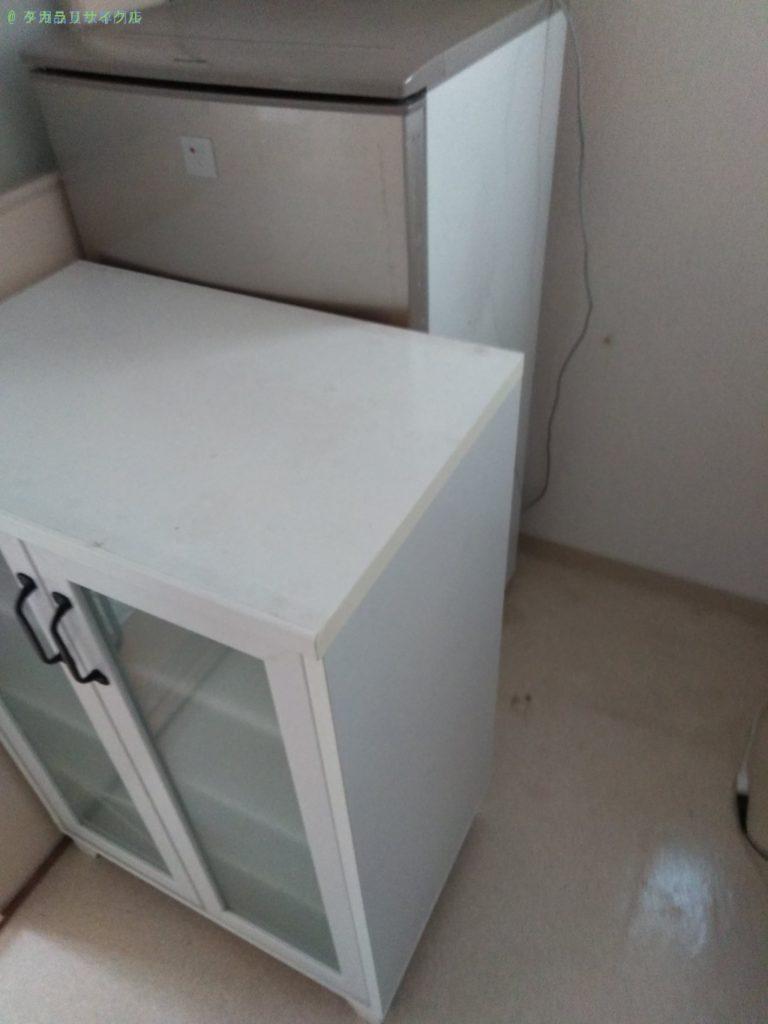 【徳島市山城西】洗濯機・食器棚の処分・回収のご依頼者さま