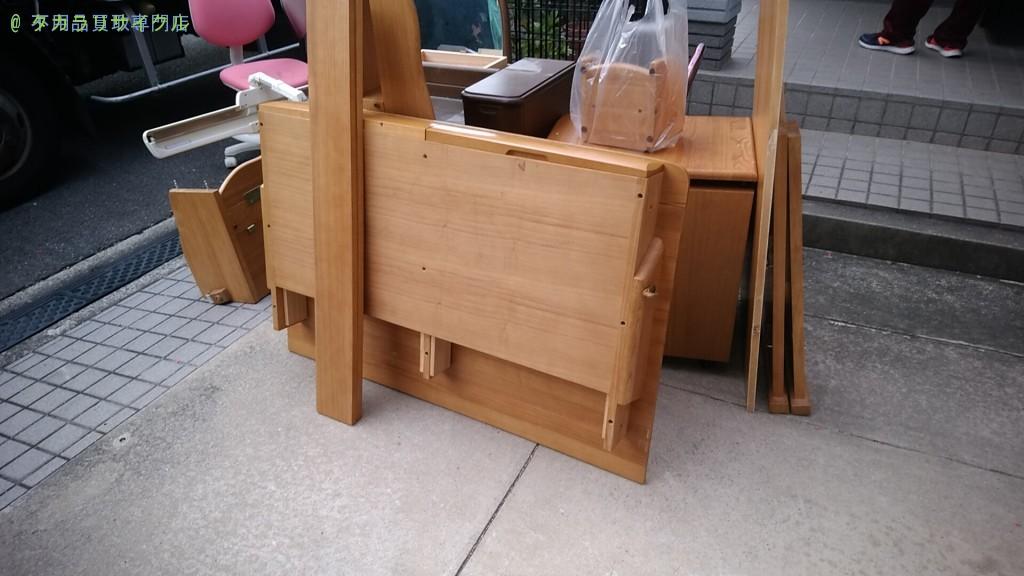 【丸亀市飯山町】テーブル・学習机・椅子の買取回収をご依頼のお客様