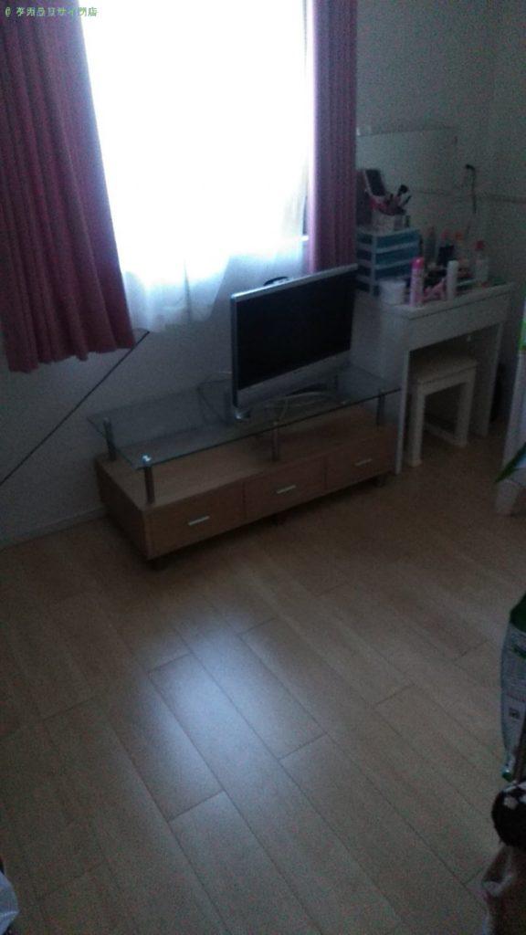 【今治市波方町】テレビ・テレビ台・洗濯機の買取回収をご依頼のお客様