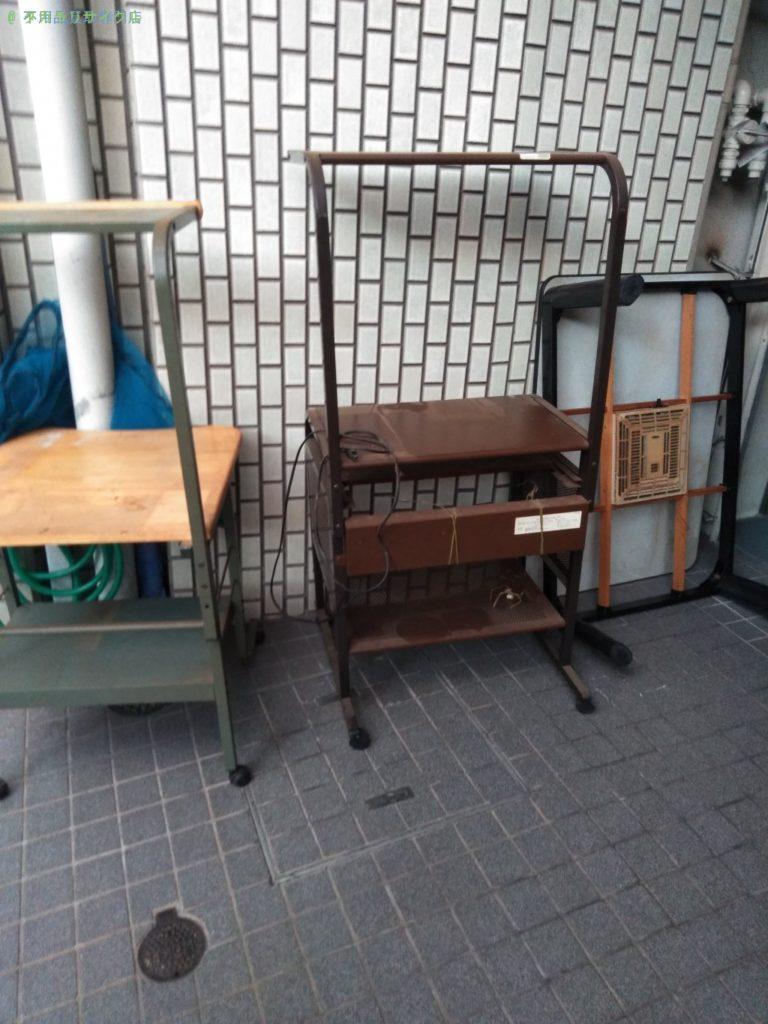 【高松市藤塚町】パソコンデスク・こたつの買取・回収をご依頼のお客様