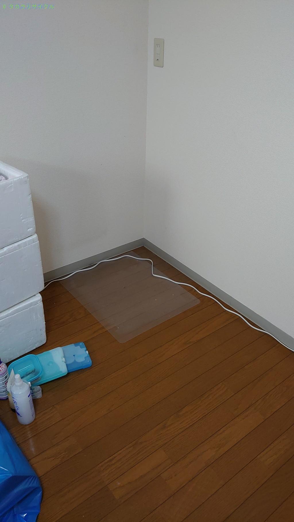 【小松島市小松島町】冷蔵庫・普通ゴミの買取・回収のご依頼者さま