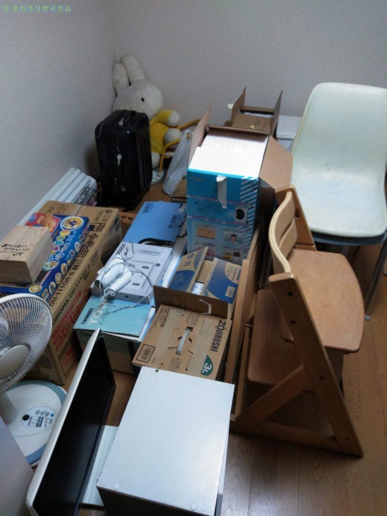 【高知市佐々木町】不用品一式の処分・回収のご依頼者さま