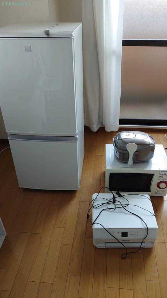 【高松市西宝町】冷蔵庫・洗濯機ほか家電の買取・回収のご依頼者さま