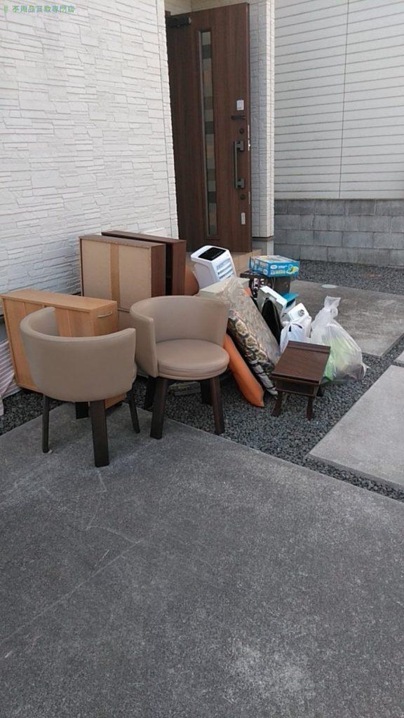 【伊予市宮下】椅子・本棚ほか不用品の処分・回収のご依頼者さま