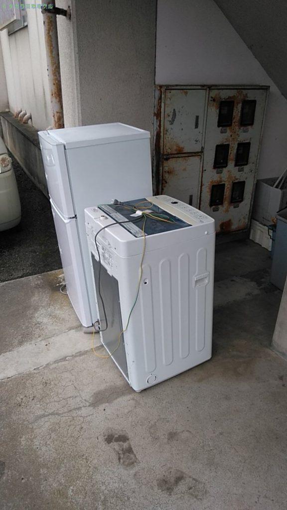 【上浮穴郡久万高原町久万】冷蔵庫・洗濯機の回収のご依頼者さま