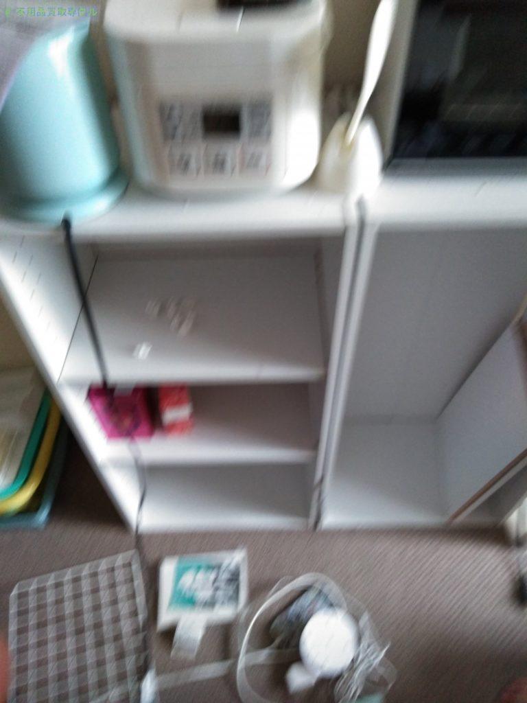 【高知市上町】電気ケトル・炊飯器ほか家具家電の回収のご依頼者さま