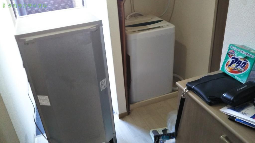 【新居浜市松原町】冷蔵庫・洗濯機の処分・回収のご依頼者さま