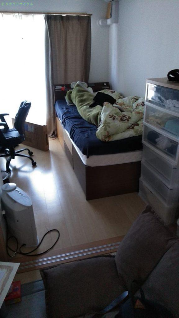 【松山市鉄砲町】ベッドの買取・回収のご依頼者さま