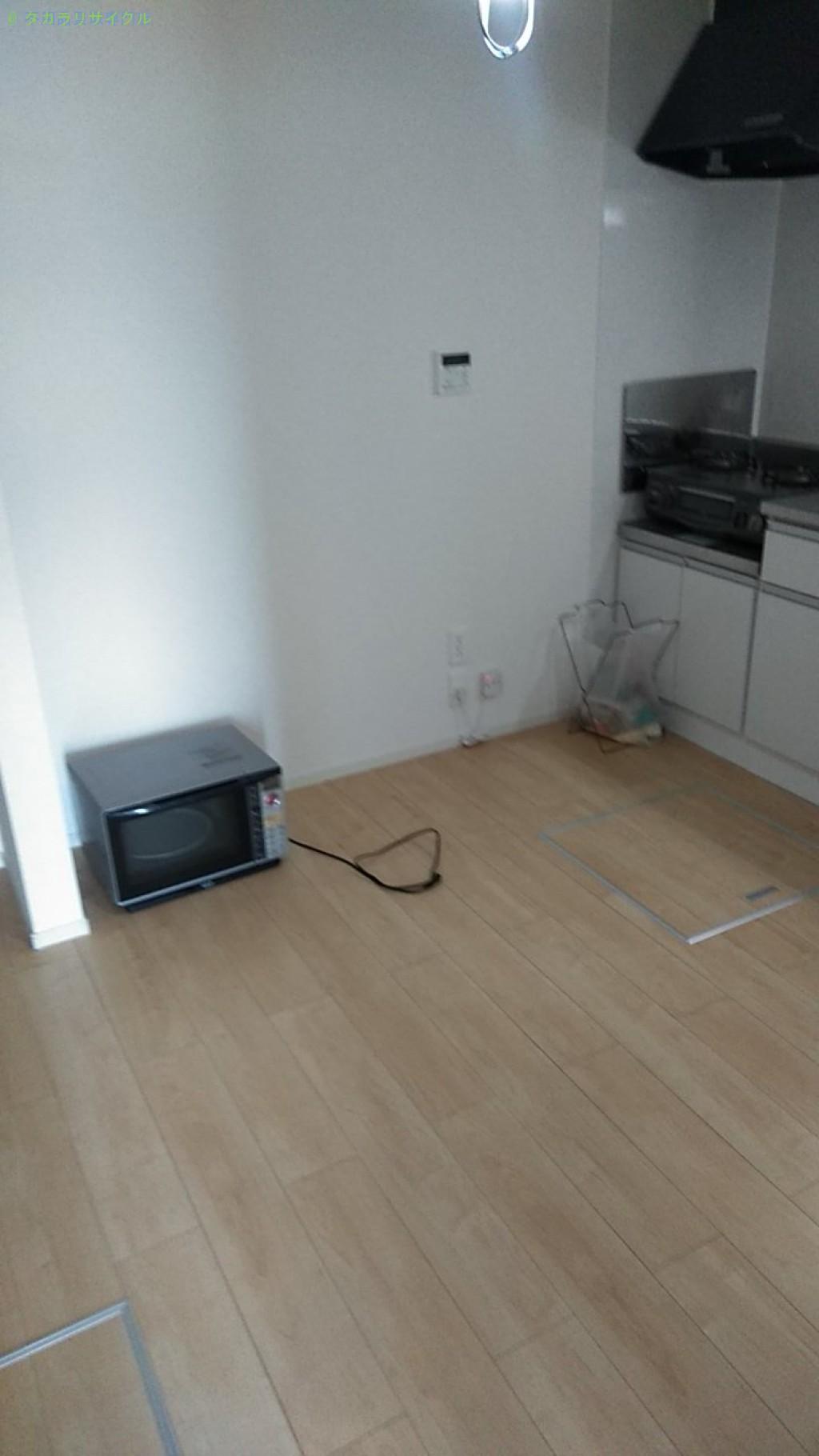 【西条市玉津】メタルラックほか家具・家電の処分・回収のご依頼者さま