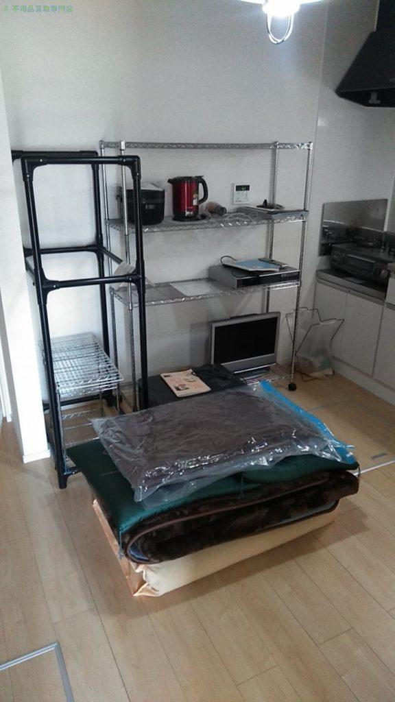 【西条市玉津】メタルラックほか家具家電の処分・回収のご依頼者さま