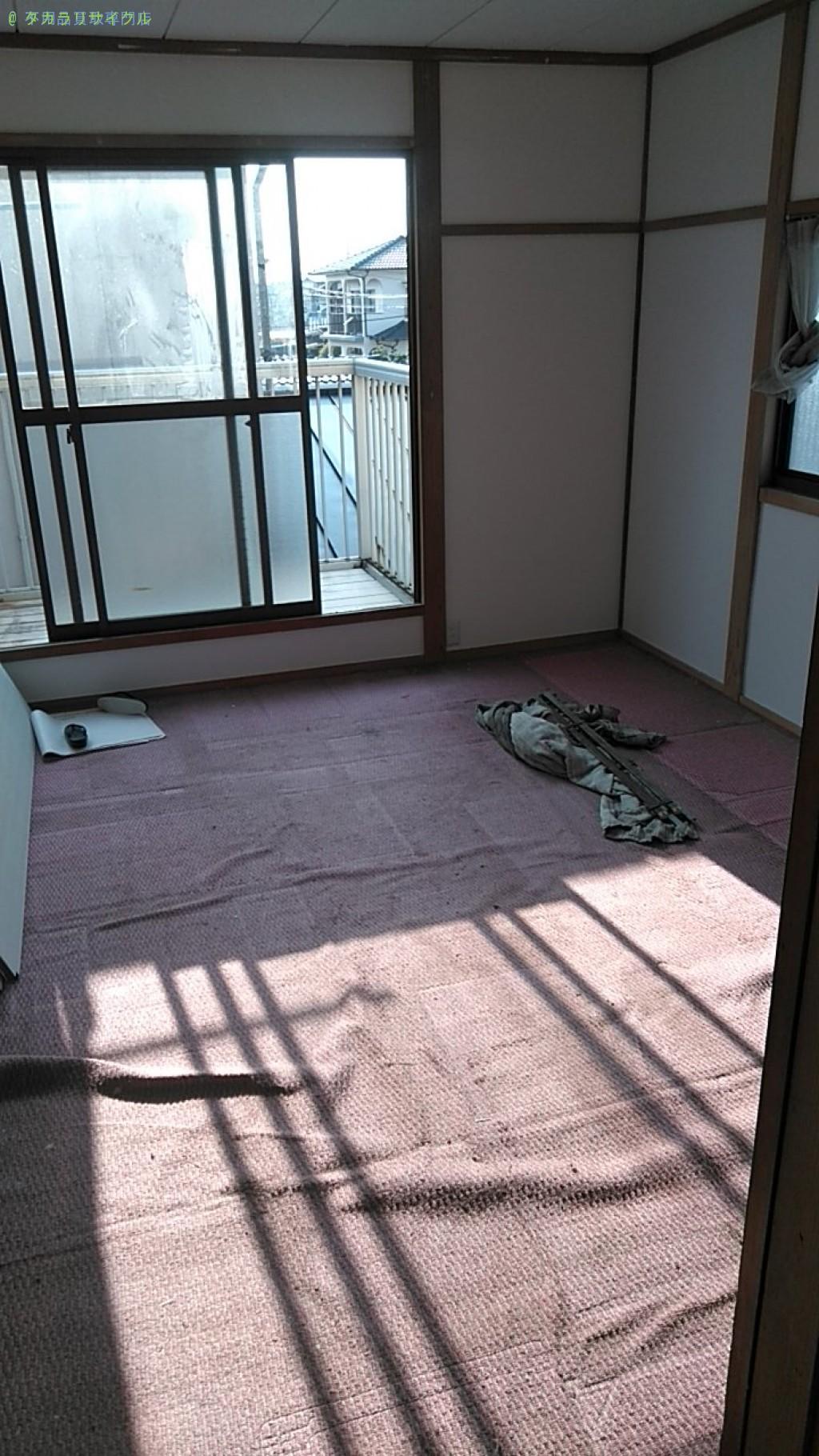 【松山市久米窪田町】タンスの処分・回収のご依頼者さま