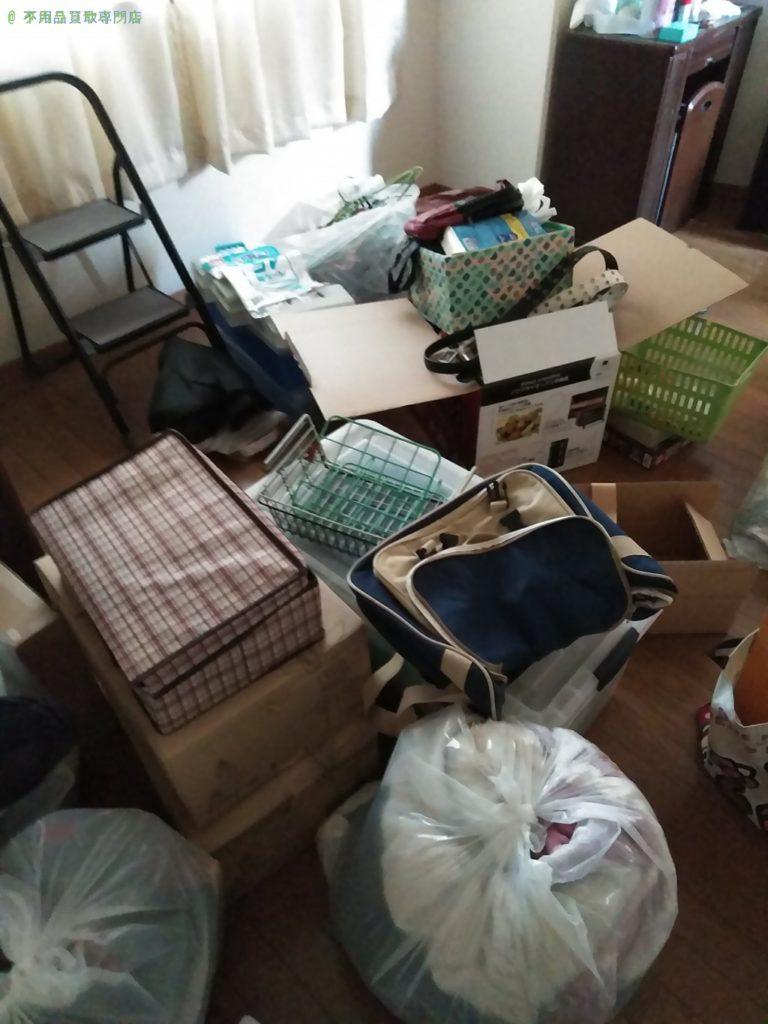 【徳島市末広】不用品一式の処分・回収のご依頼者さま