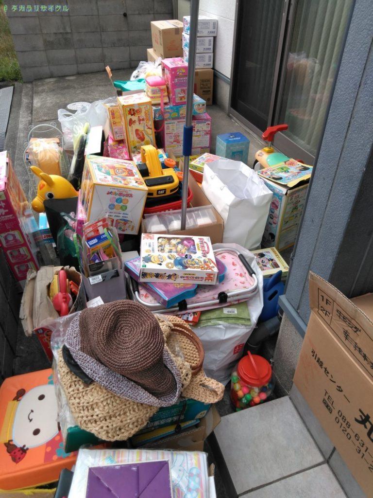 【小松島市立江町】おもちゃの処分・回収のご依頼者さま