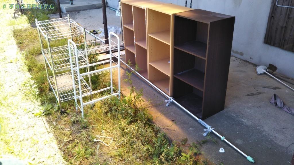 【西条市玉之江】カラーボックスほか不用品の回収のご依頼者さま