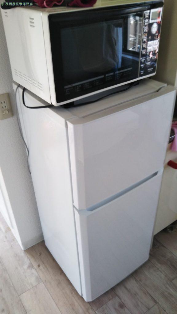 【徳島市山城西】電子レンジ・冷蔵庫の処分・回収のご依頼者さま