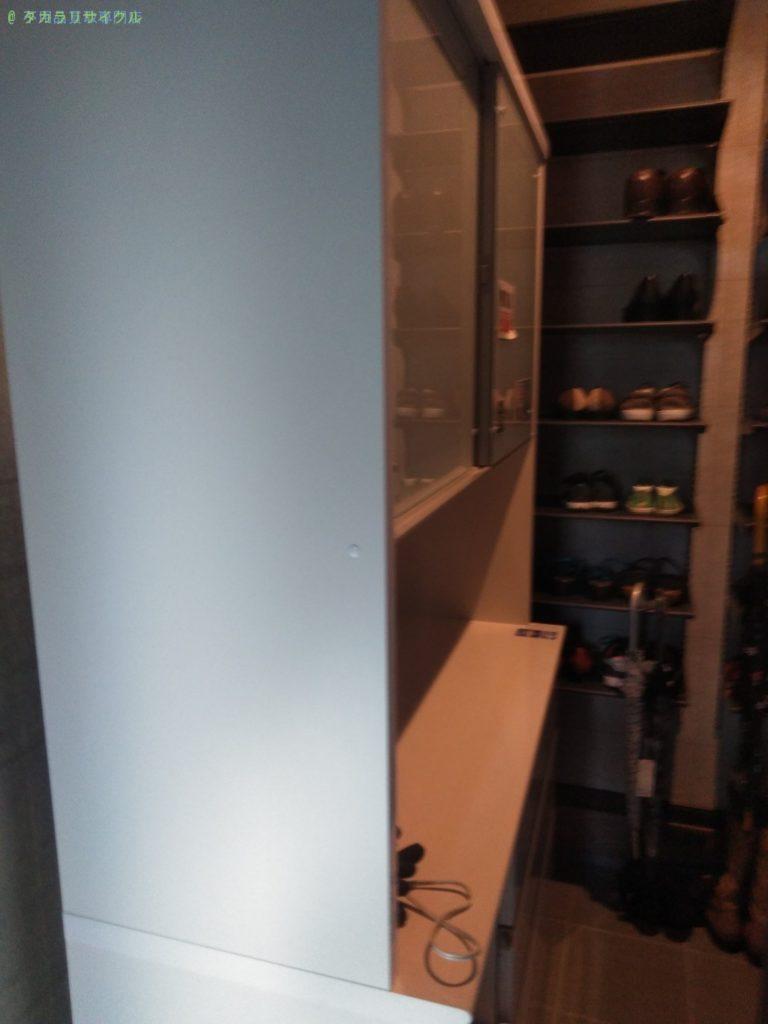 【板野郡藍住町徳命】レンジボードの処分・回収のご依頼者さま