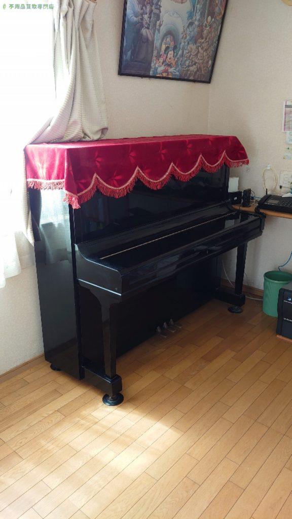 【伊予市下吾川】アップライトピアノの買取・回収のご依頼者さま