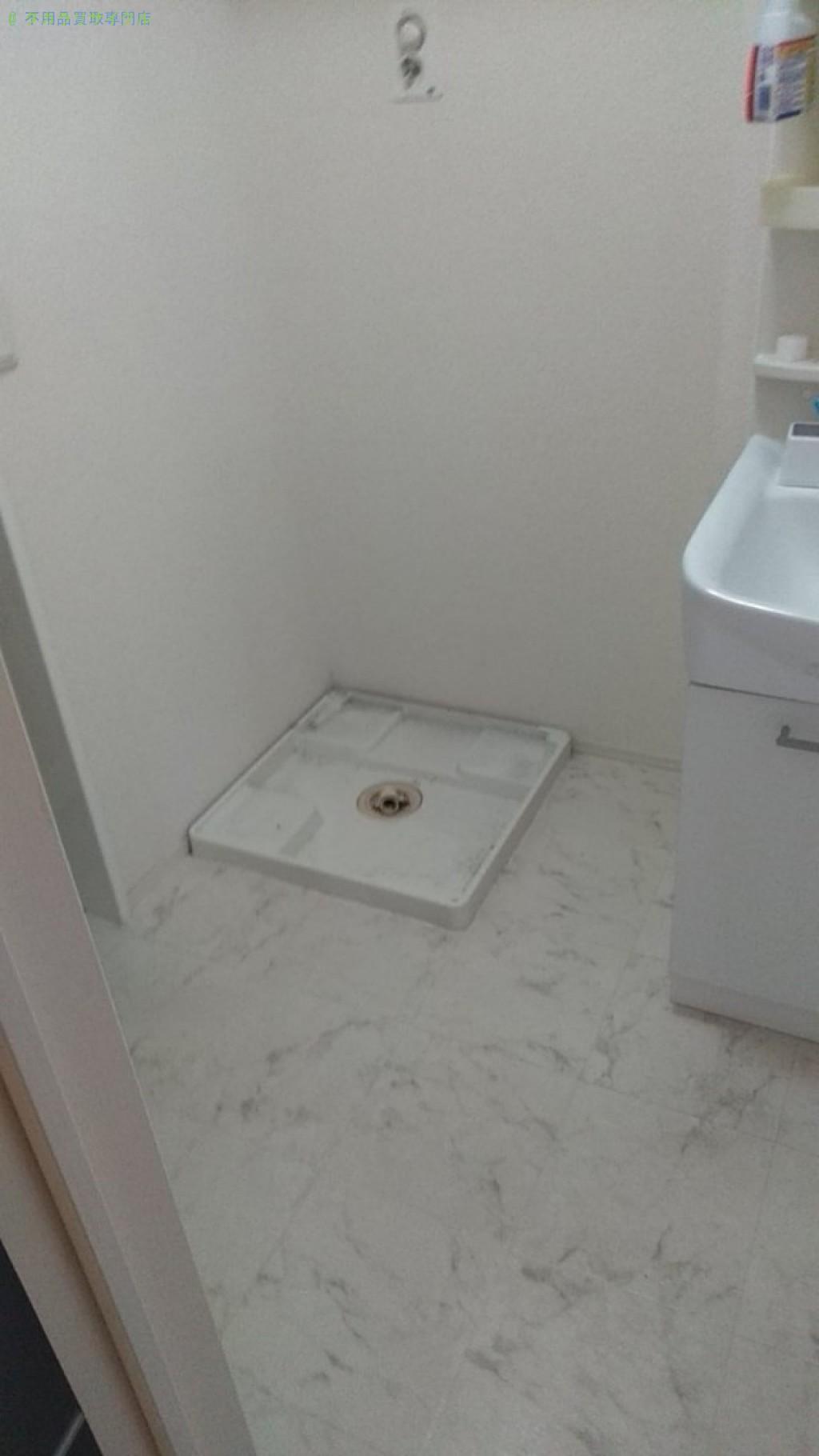 【伊予市下吾川】電子レンジ・レンジ台・洗濯機の回収のご依頼者さま