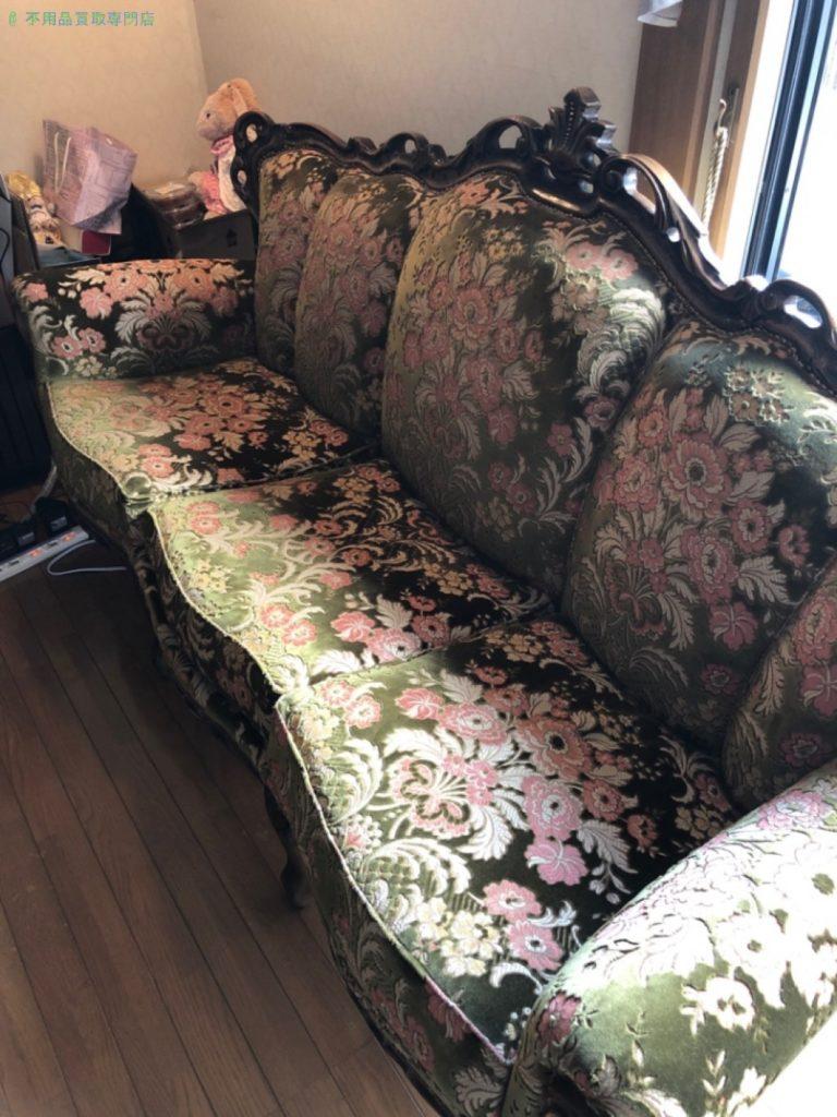 【大津市本宮】ソファ・ローテーブルの買取・回収のご依頼者さま