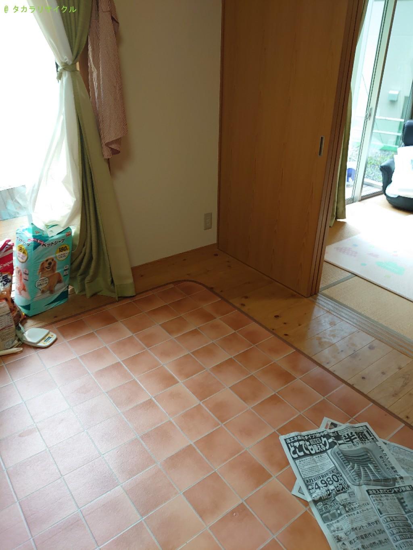 【高知市土佐山】クローゼットほか家具の買取・回収のご依頼者さま
