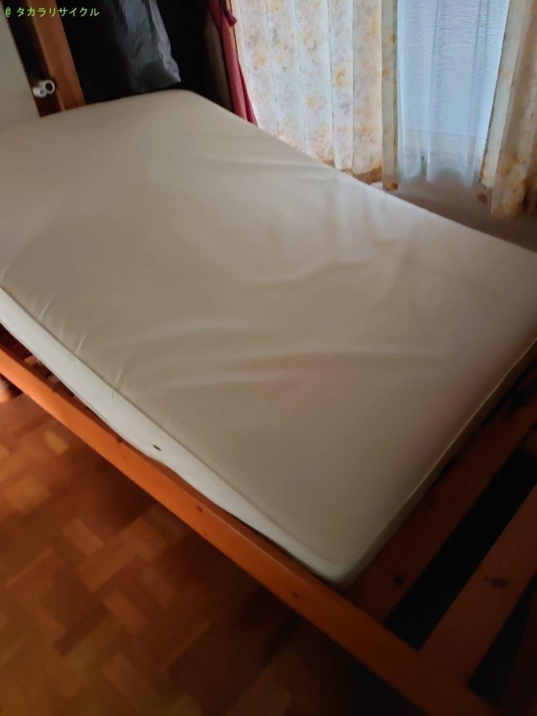 【松山市北井門】ベッドの処分・回収のご依頼者さま
