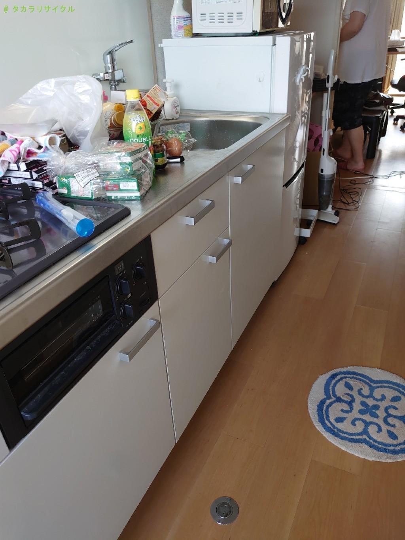 【松山市朝生田町】冷蔵庫ほか家具家電一式の回収のご依頼者さま