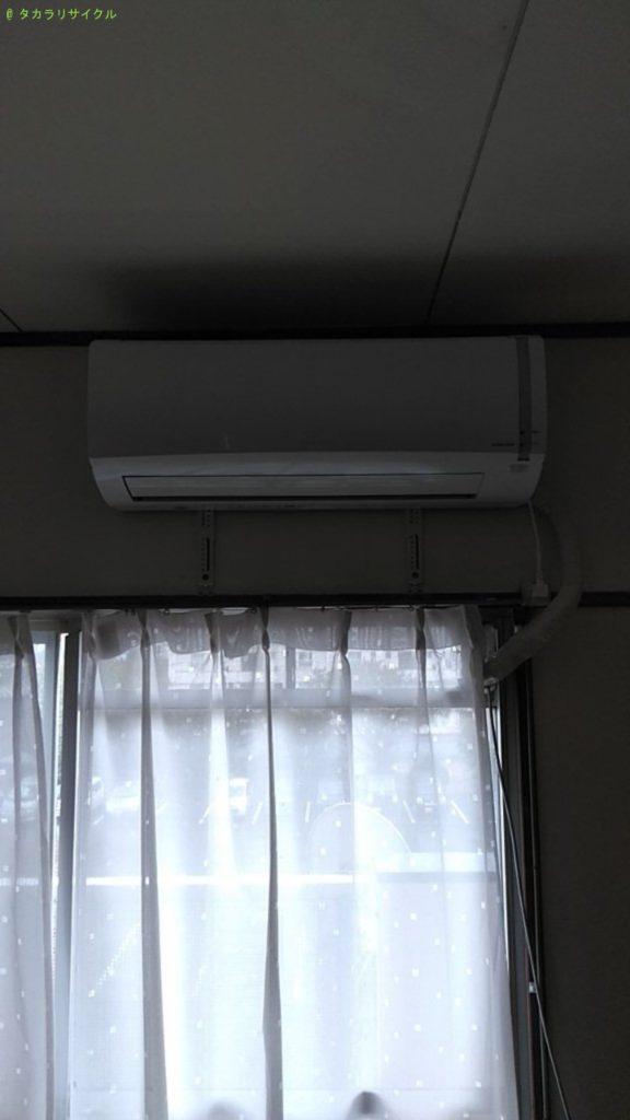 【東温市見奈良】エアコンの処分・回収のご依頼者さま