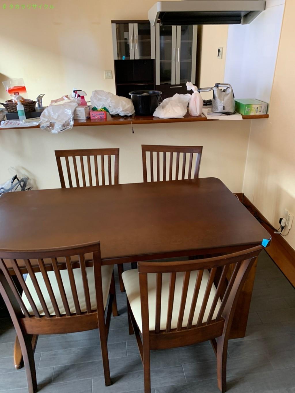 【彦根市小泉町】ソファ・ベッドほか家具の回収のご依頼者さま