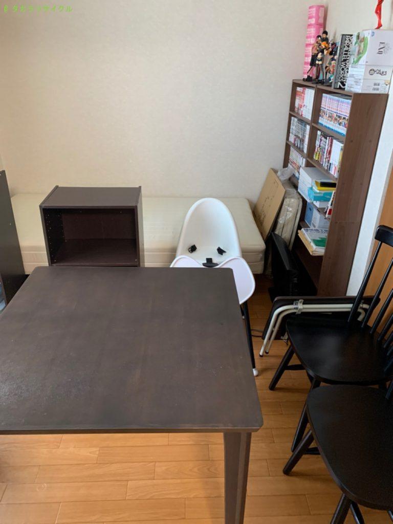 【甲賀市甲賀町】脚付きマットレスほか家具の回収のご依頼者さま