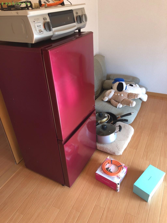 【東近江市】ガスコンロ・冷蔵庫ほか不用品の回収のご依頼者さま