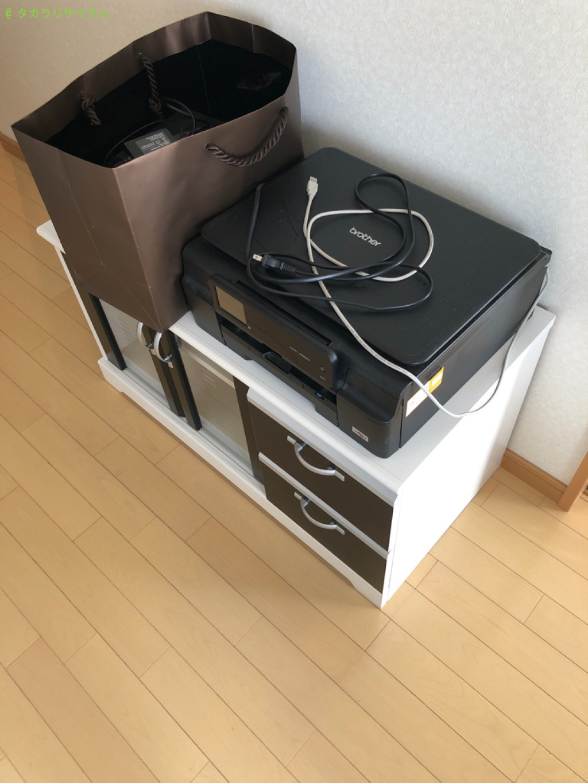 【高島市新旭町】座椅子・プリンタほか家具家電の回収のご依頼者さま