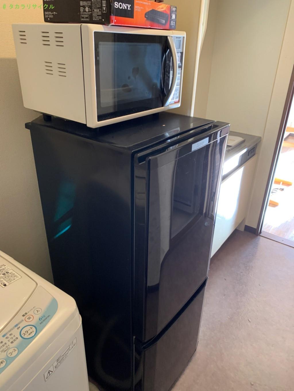 【草津市青地町】洗濯機・マットレスほか家具家電回収のご依頼者さま
