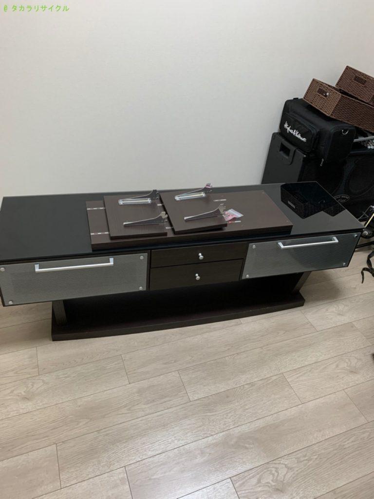 【守山市梅田町】テレビボードの処分・回収のご依頼者さま