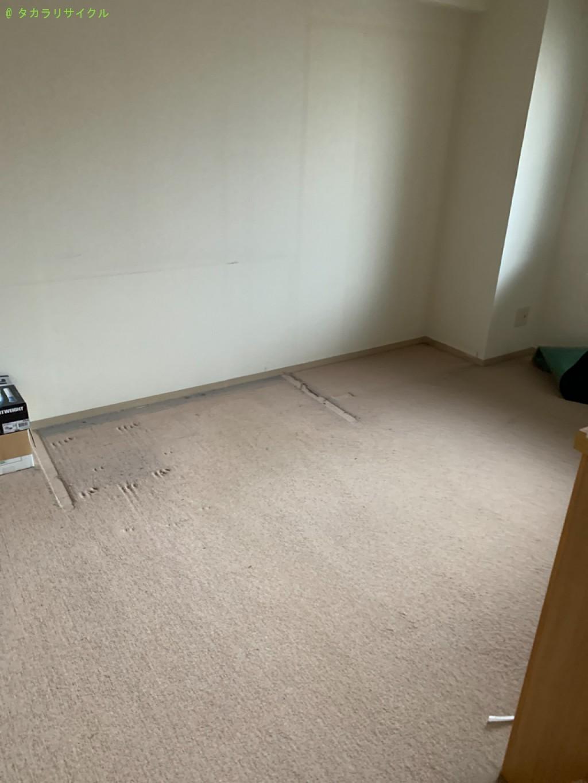 【大津市柳川】デスク・冷蔵庫ほか家具家電の回収のご依頼者さま