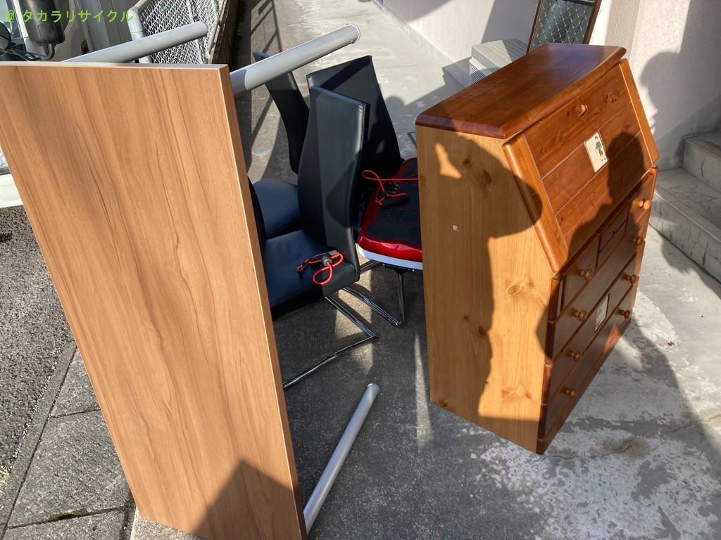 【鹿児島市伊敷台】ドレッサーチェストほか家具の回収のご依頼者さま