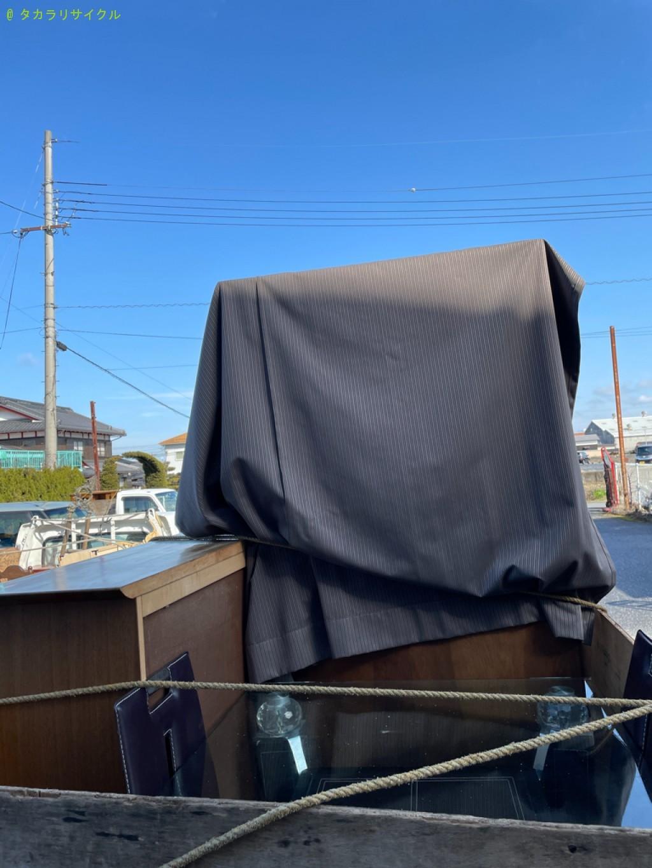 【栗東市御園】キャビネット・ソファ・タンスの回収のご依頼者さま