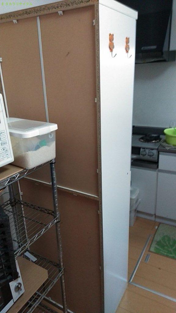 【東温市志津川南】食器棚の処分・回収のご依頼者さま
