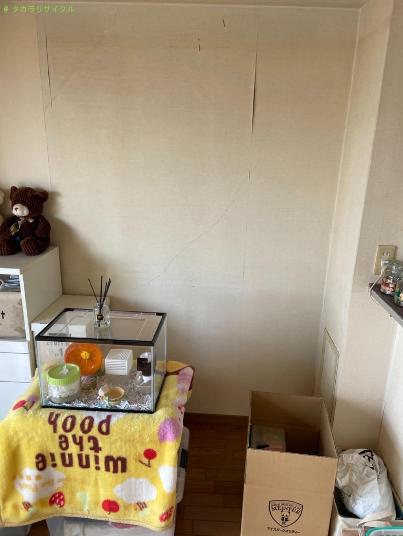 【大津市松山町】タンス・食器棚の処分・回収のご依頼者さま